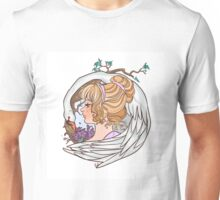 Caged up like a bird in mid-summer Unisex T-Shirt