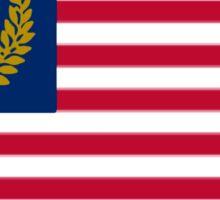 United Republic of America flag Sticker