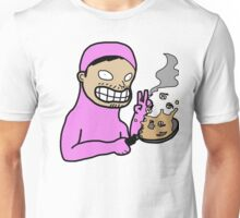 Bad Pink Guy Drawing Unisex T-Shirt