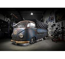 Phil Mizzi's 1954 Volkswagen Kombi Single-Cab Photographic Print