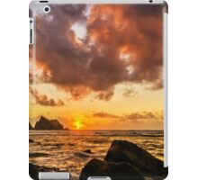 Sun , sea and sunset iPad Case/Skin