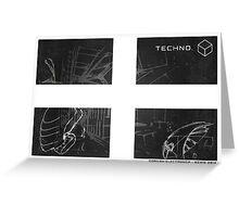 Cornish Techno Greeting Card