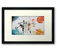 The Protagonists - Magi Framed Print