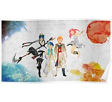 The Protagonists - Magi Poster