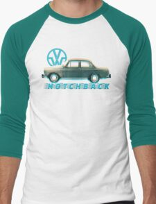 Classic Car T-Shirt Men's Baseball ¾ T-Shirt