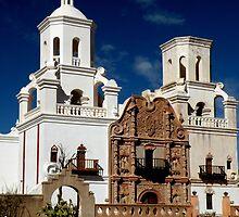 San Xavier Del Bac Mission by Winona Sharp