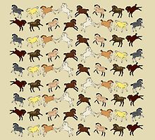 Pony Foals by Diana-Lee Saville
