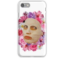 Alyssa Edwards Beauty Mask With Flowers - Rupaul's Drag Race All Stars 2  iPhone Case/Skin