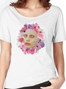 Alyssa Edwards Beauty Mask With Flowers - Rupaul's Drag Race All Stars 2  Women's Relaxed Fit T-Shirt