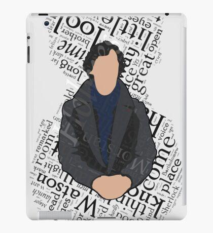 3/4 Sign iPad Case/Skin
