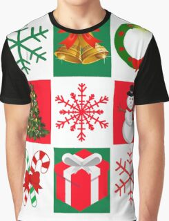 Ugly Christmas Sweater T-Shirt, Tee featuring whimsical holiday graphics Graphic T-Shirt