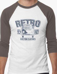 NEW Men's Classic Camper Van T-shirt Men's Baseball ¾ T-Shirt