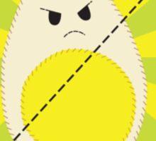 Allergic to Eggs Sticker