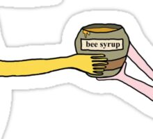 Give Me All Your Bee Syrup Meme Sticker