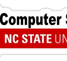 NC State University Computer Science Sticker
