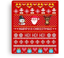 Happy Christmas Holiday- Christmas Sweater Coming Canvas Print