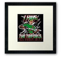 I Have the Triforce Framed Print