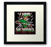 I Have the Triforce Framed Print
