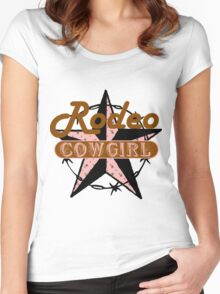Rodeo Cowgirl Women's Fitted Scoop T-Shirt