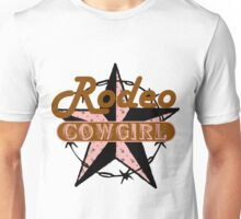 Rodeo Cowgirl Unisex T-Shirt