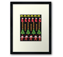 Game Classic Christmas Sweater Framed Print