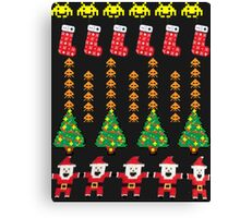 Game Classic Christmas Sweater Canvas Print