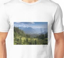 Summerland in Mount Rainer National Park, Washington. Unisex T-Shirt