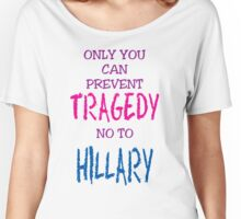 PREVENT TRAGEDY Women's Relaxed Fit T-Shirt