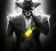 Twisted Fate - League of Legends by Waccala