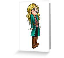 Goofy Baylee Greeting Card