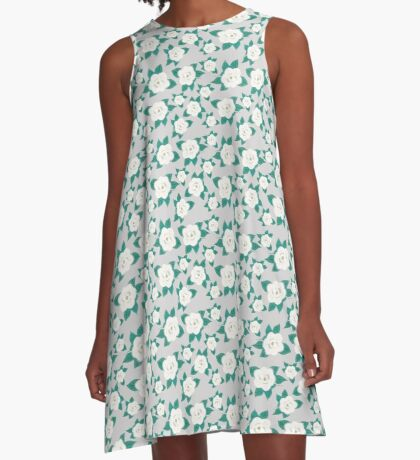 Magnolia Fields  A-Line Dress