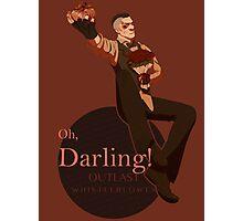 Darling (orange ver.) Photographic Print