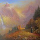 Gandalf and Beorn.(A Chance Encounter) by Joe Gilronan