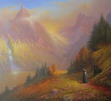 Gandalf and Beorn.(A Chance Encounter) by Joe Gilronan