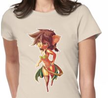 Forest Girl Womens Fitted T-Shirt