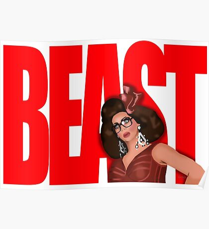 "Alyssa Edwards ""BEAST"" Poster"