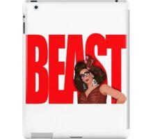 """Alyssa Edwards """"BEAST"""" iPad Case/Skin"""