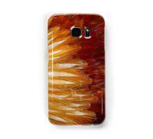 Orange Feathers Samsung Galaxy Case/Skin