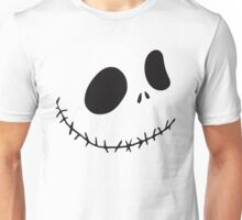 """Who's This?""- Nightmare Before Christmas, Skellington, Pumpkin King, White, Grin, Evil, Halloween, Christmas, Movie, Fandom, Geek, Geekery, Nerd, Nerdy Unisex T-Shirt"