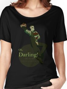 Darling (Green ver.) Women's Relaxed Fit T-Shirt