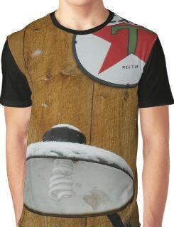 Americana Series:  Old Light Fixture Newfangled Bulb Graphic T-Shirt