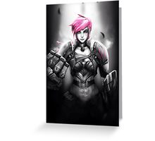 Vi - League of Legends Greeting Card