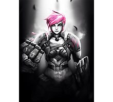 Vi - League of Legends Photographic Print
