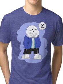 Sleeping Sans  Tri-blend T-Shirt