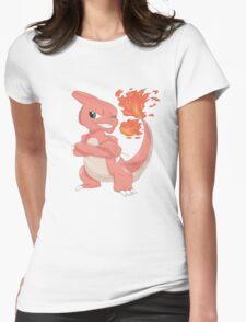 Pokemon-Charmeleon Womens Fitted T-Shirt