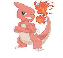 Pokemon-Charmeleon Photographic Print