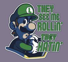 Luigi MK8 - Ridin' Dirty Kids Clothes