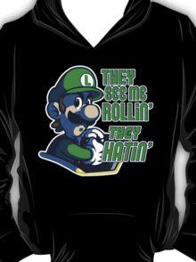 Luigi MK8 - Ridin' Dirty T-Shirt