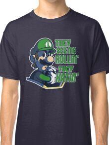 Luigi MK8 - Ridin' Dirty Classic T-Shirt