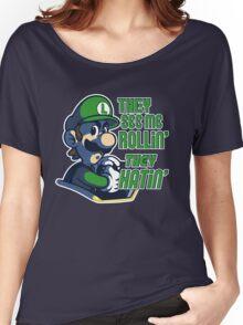 Luigi MK8 - Ridin' Dirty Women's Relaxed Fit T-Shirt